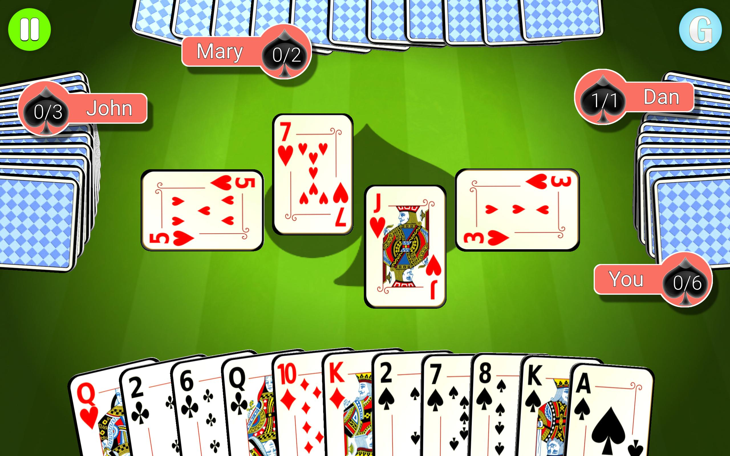 how to play 3 handed spades